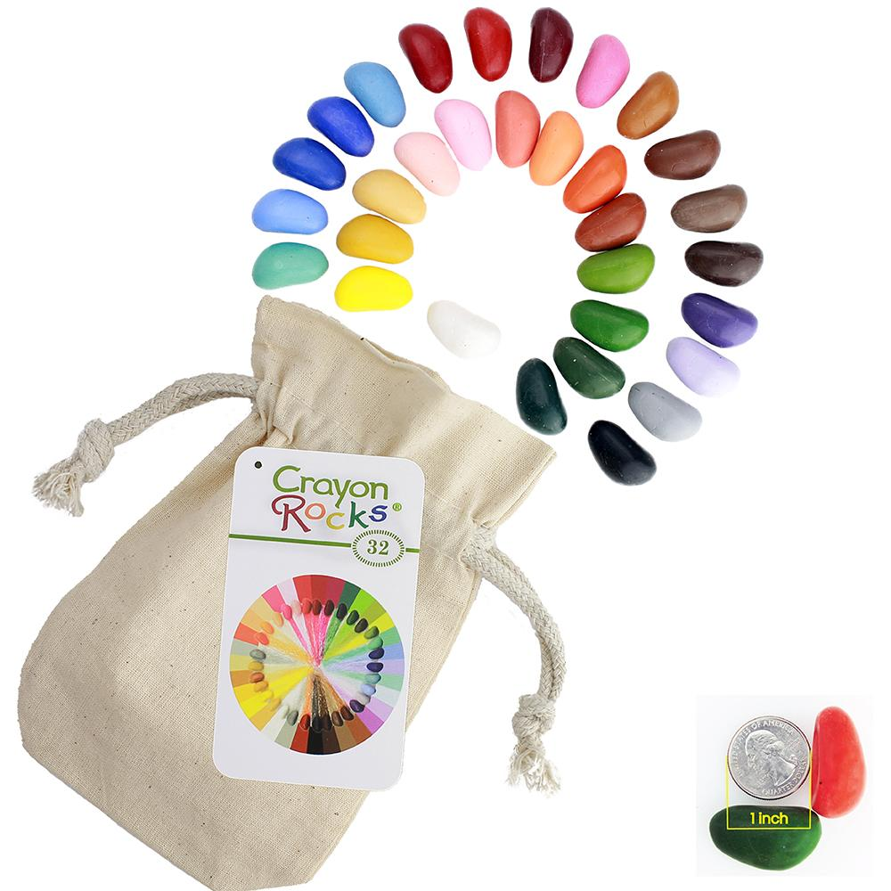 32 Colors in a Cotton Muslin Bag
